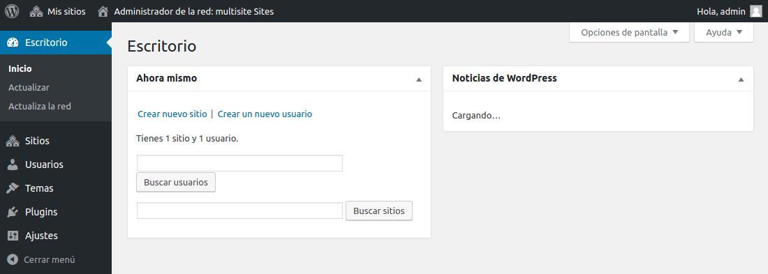 Cómo instalar y configurar WordPress Multisitio