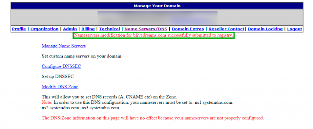 Apuntar DNS