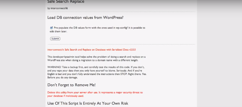 Cómo cambiar WordPress de un dominio a otro