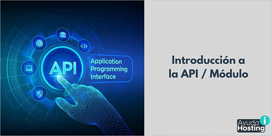 Introducción a la API / Módulo