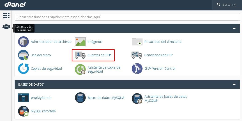 Establecer conexión FTP con tu cuenta hosting