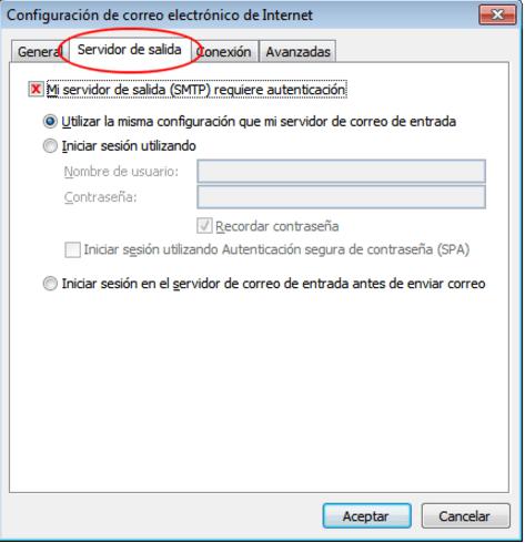 Configurar una cuenta de correo de cPanel en Outlook 2016