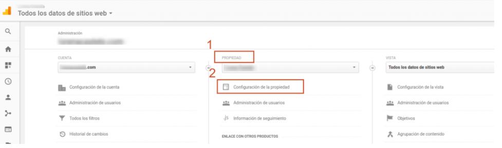 Problemas con las herramientas de Google al activar SSL