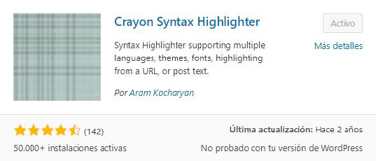 Cómo insertar código visual en Entrada o Página de WordPress