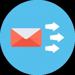Introducción de datos para SMTP configuracion gmail