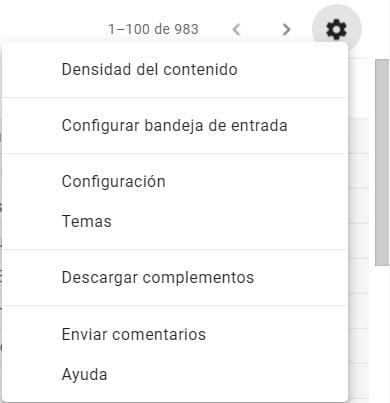 Configurar Gmail como cliente de email
