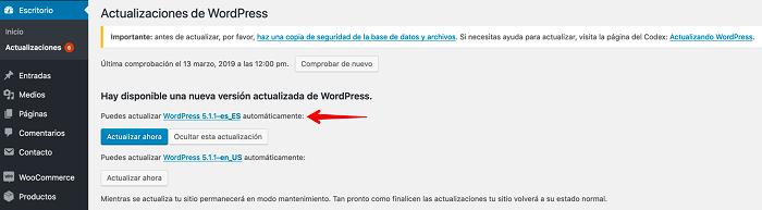 Conoce la versión 5.1.1 de WordPress