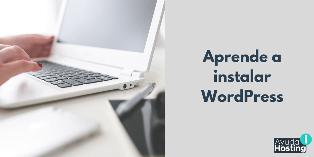 Aprende a instalar WordPress