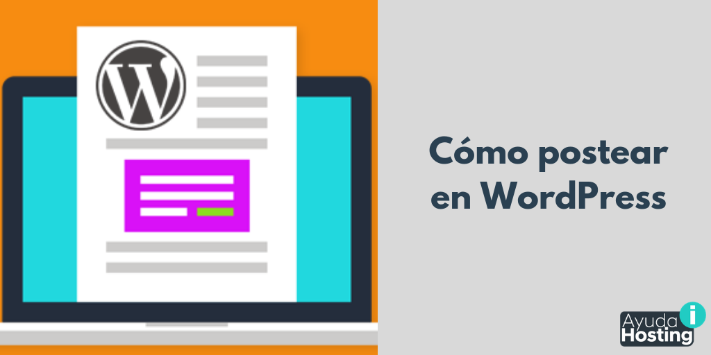 Cómo postear en WordPress