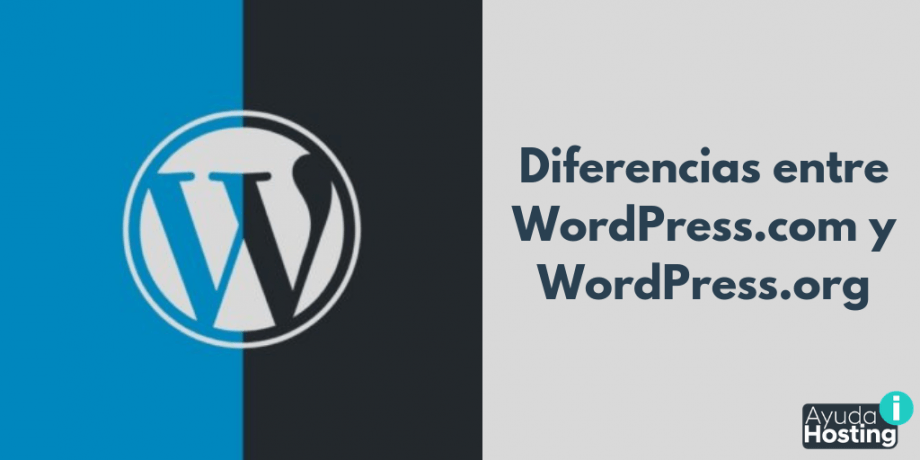Conoce las diferencias entre WordPress.com y WordPress.org