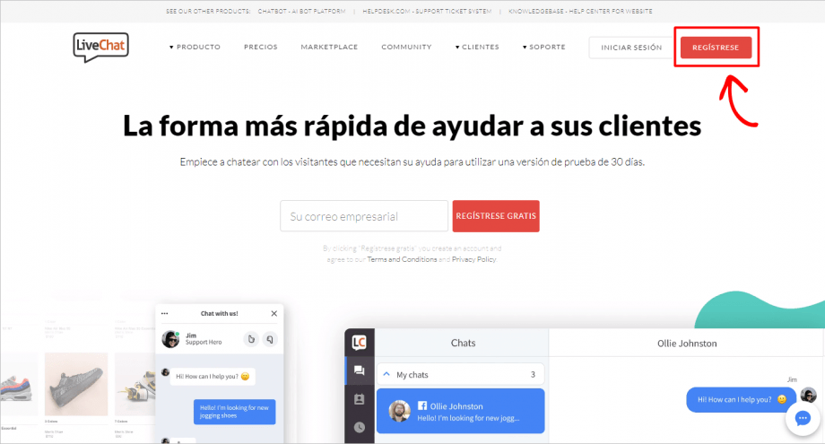 Chat en vivo gratuito en WordPress