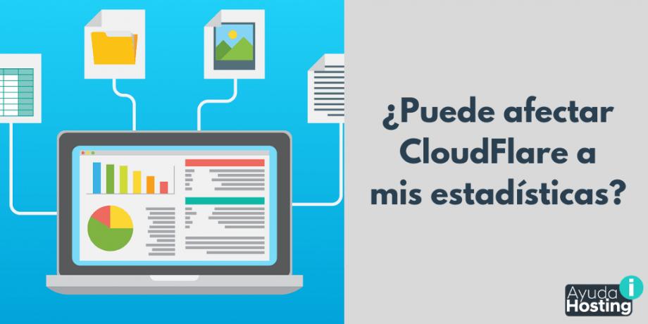 ¿Puede afectar CloudFlare a mis estadísticas?