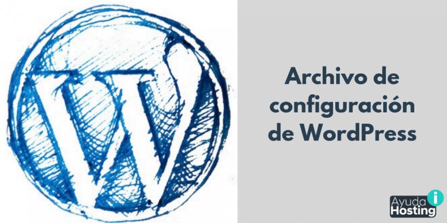 Archivo de configuración de WordPress
