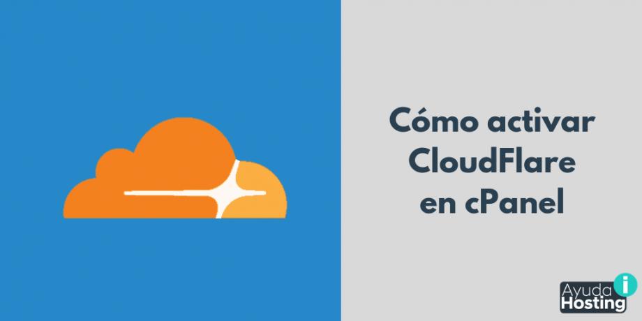 Activar Cloudflare