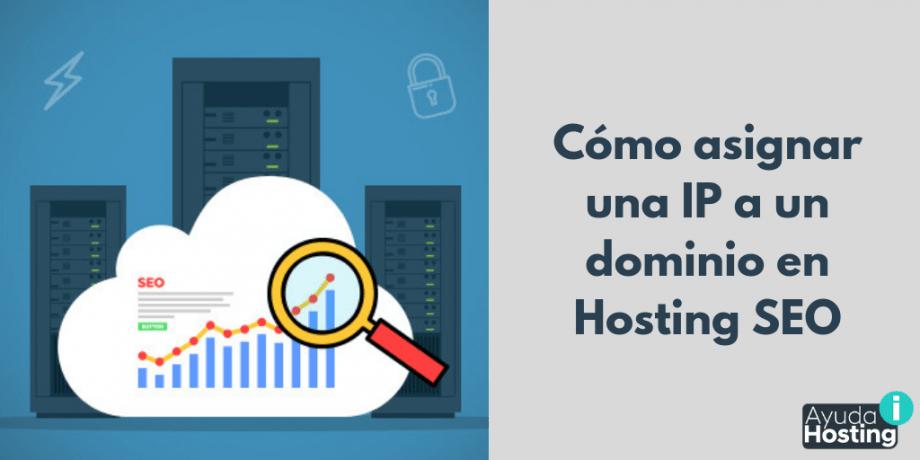 Cómo asignar una IP a un dominio en Hosting SEO