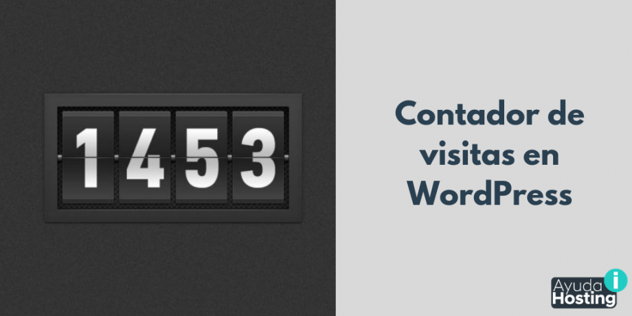 Cómo colocar un contador de visitas en WordPress
