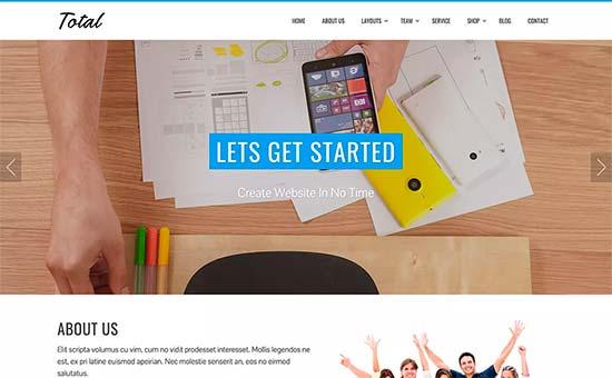 Los mejores temas gratuitos para negocios de WordPress