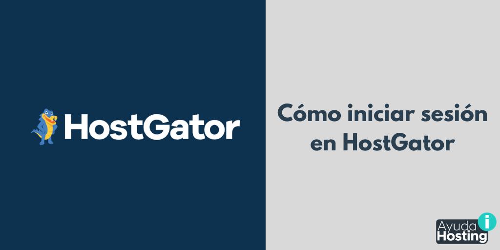 Cómo iniciar sesión en HostGator