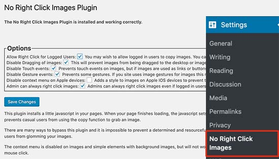 Cómo evitar que los usuarios copien imágenes de tu sitio de WordPress