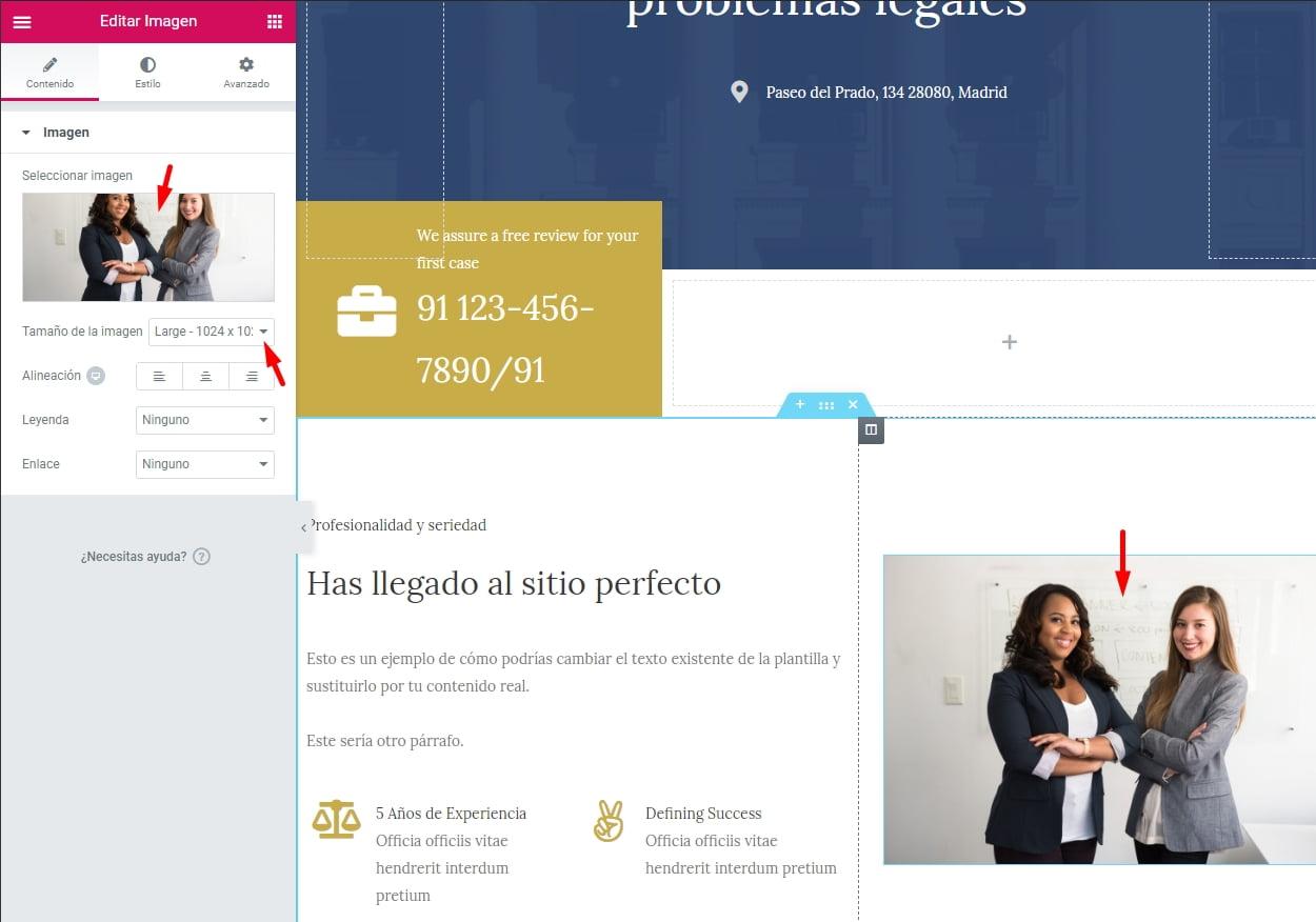 crear tu web con Astra