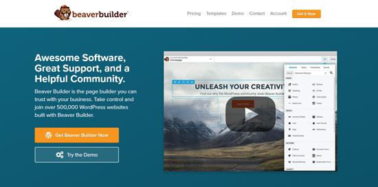 Los 5 mejores creadores de páginas para WordPress