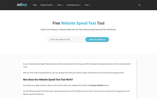 Cómo hacer una prueba de velocidad en tu sitio web