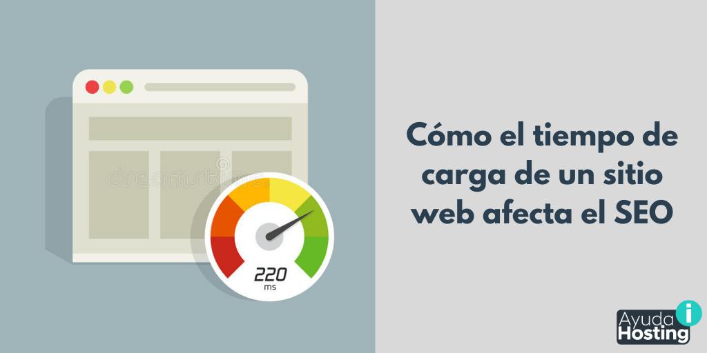 Cómo el tiempo de carga de un sitio web afecta el posicionamiento SEO