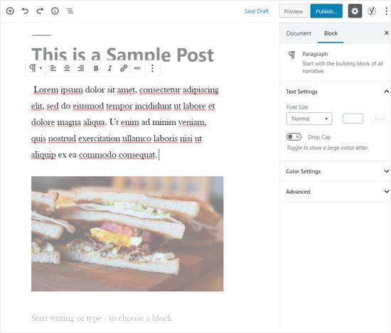 Cómo evitar distracciones en el editor de visual de WordPress