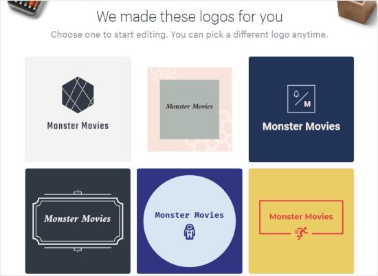 Los mejores generadores de logotipos para un sitio web