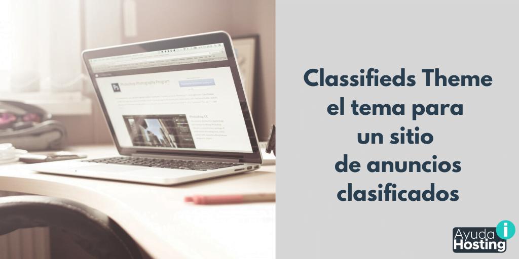 Classifieds Theme el tema perfecto para un sitio de anuncios clasificados