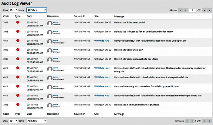 Cómo auditar los registros de seguridad de WordPress