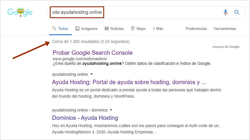 Por qué tu sitio web no aparece en Google