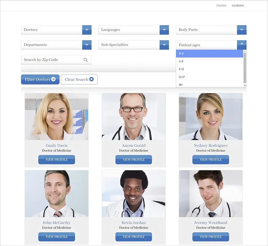 TriageTrak el plugin de WordPress diseñado para organizaciones médicas