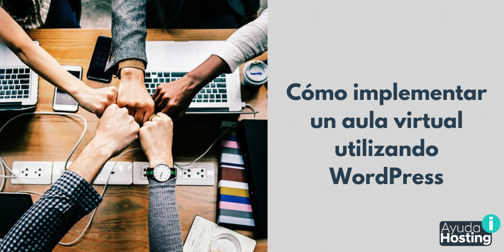 Cómo implementar un aula virtual utilizando WordPress