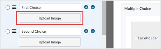 Cómo agregar opciones de imagen en formularios de WordPress
