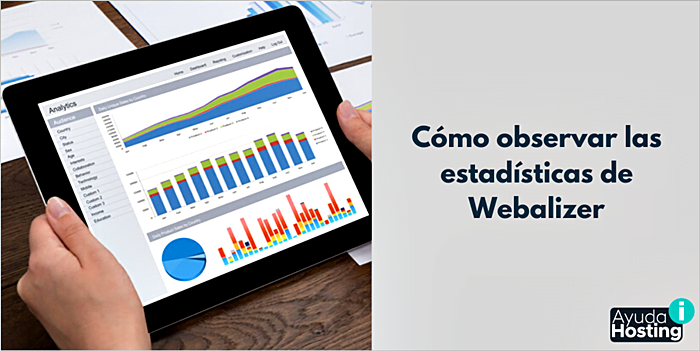 Cómo observar las estadísticas de Webalizer