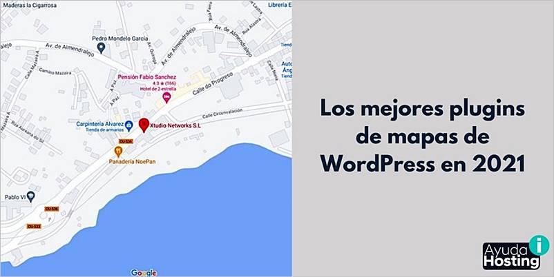 Los mejores plugins de mapas de WordPress en 2021
