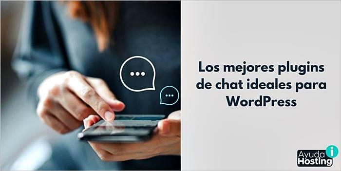 Los mejores plugins de chat ideales para WordPress