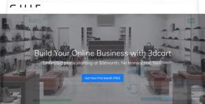 3dCart mejores alternativas de Shopify en 2021