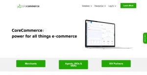 Corecommerce mejores alternativas de Shopify en 2021