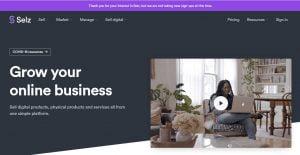 Selz mejores alternativas de Shopify en 2021