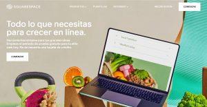 Squarespace mejores alternativas de Shopify en 2021