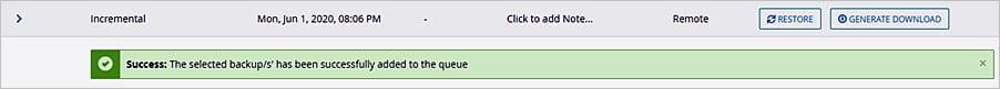 Cómo utilizar JetBackup 5 en cPanel