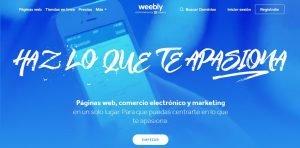 Weebly mejores alternativas de Shopify en 2021