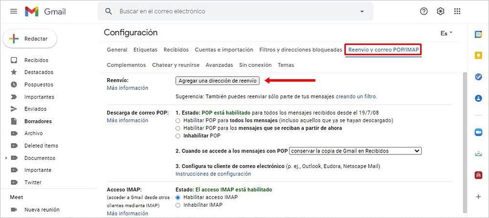 Cómo administrar varias cuentas de Gmail en una sola bandeja de entradaCómo administrar varias cuentas de Gmail en una sola bandeja de entrada
