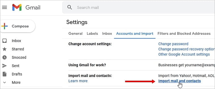 Cómo administrar varias cuentas de Gmail en una sola bandeja de entrada