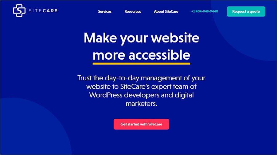 Los mejores servicios de mantenimiento y soporte de WordPress